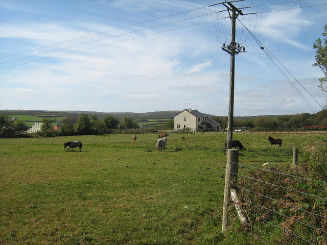 Farmland at Trezelah Park Farm