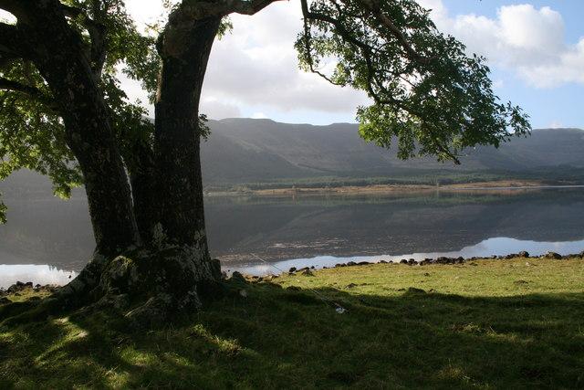 Loch Arienas from Arienas Point