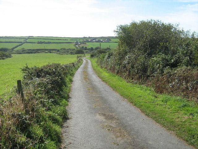 The road to Boscreege Farm #2