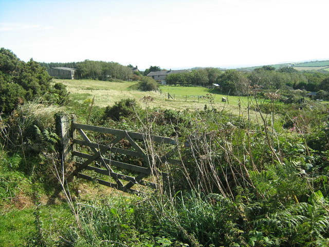 Farmland at Chysauster
