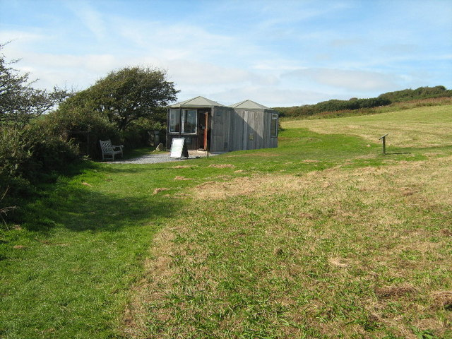 The English Heritage Visitor Centre, Chysauster Settlement