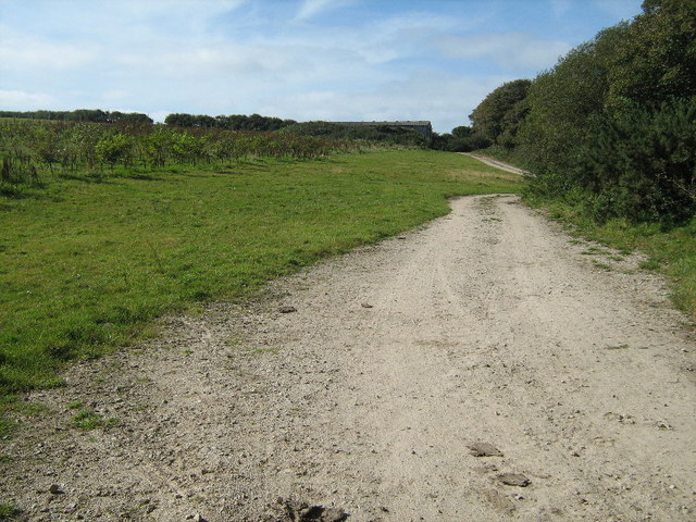 Track near Carnaquidden