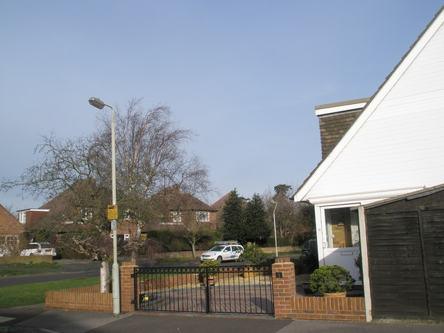 Corner of Bedford Close and Pook Lane