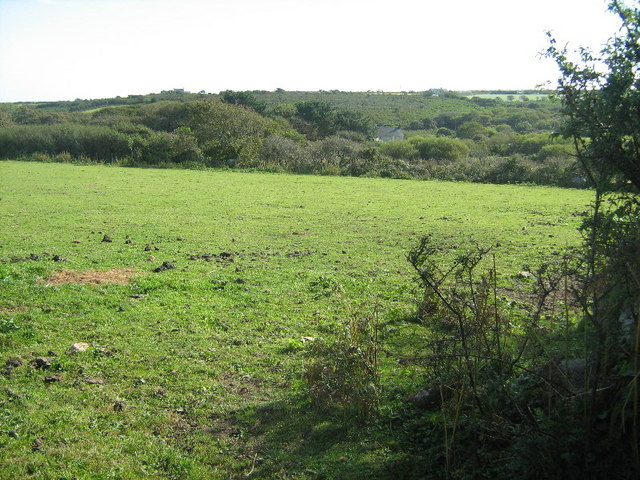 Farmland near Bay of Biscay