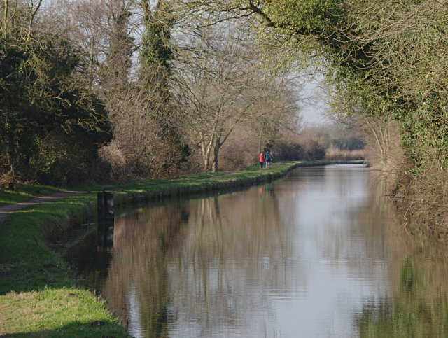 Walking the towpath