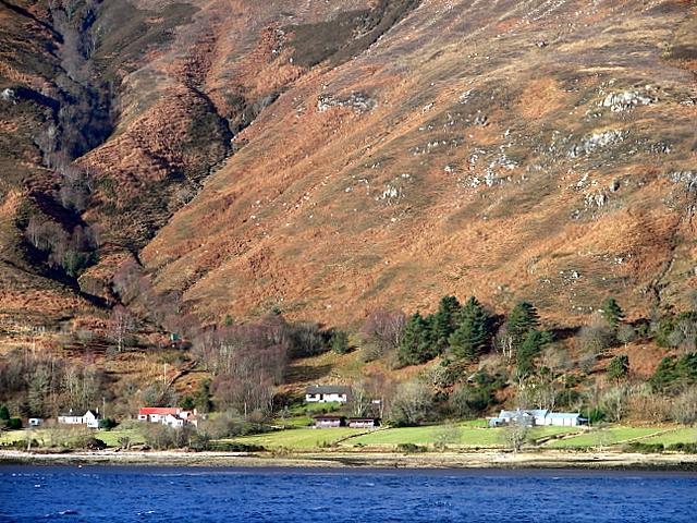 A view across Loch Linnhe
