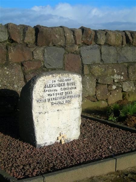 Where Alexander Ross Died