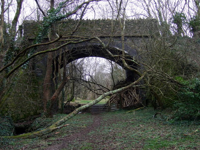 Road bridge in Cwm Brandy