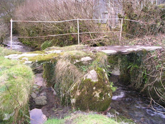 Footbridge over Nant Gwyddil