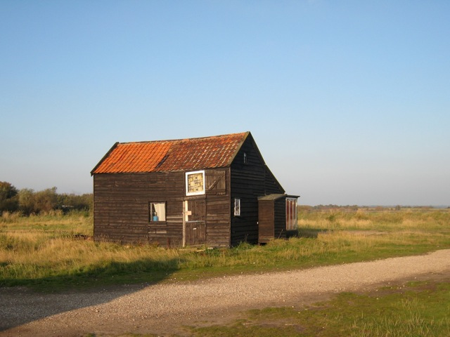 Old Wooden Building, Walberswick