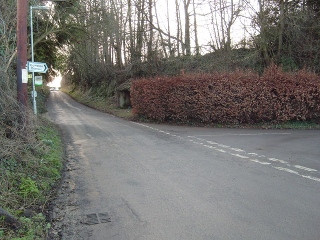 Road Junction at Compton Durville