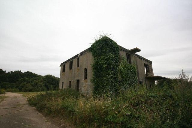 RAF Bodney control tower