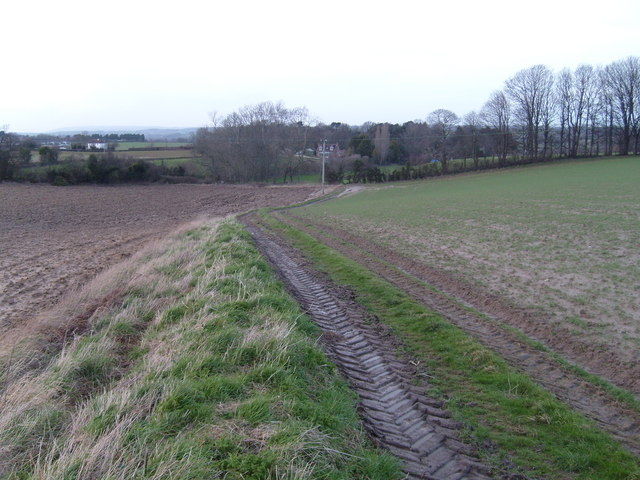 Footpath from Ben Cross to Compton Durville