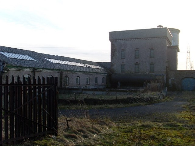 Disused Cochno Waterworks