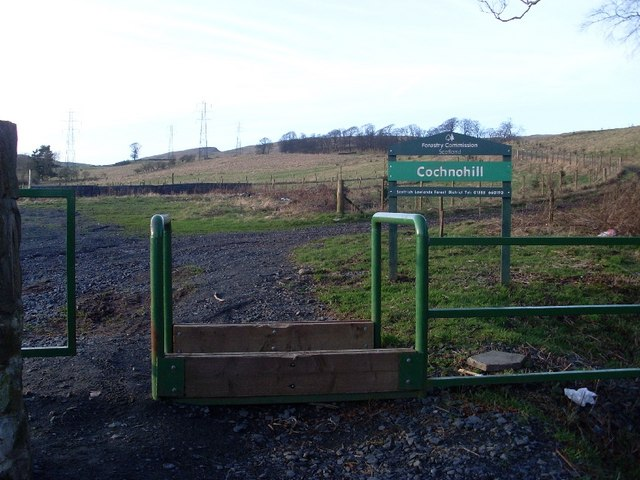 Forestry Commission land at Cochnohill