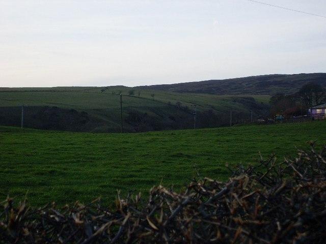 View to Loch Humphrey Burn valley