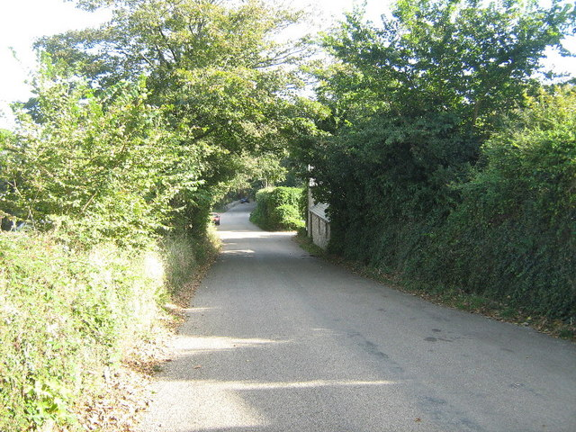 The road at Trevaylor