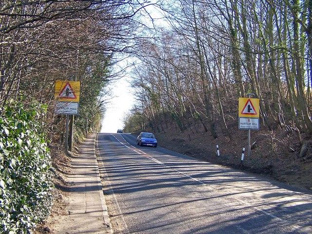A2, Hartlip Hill