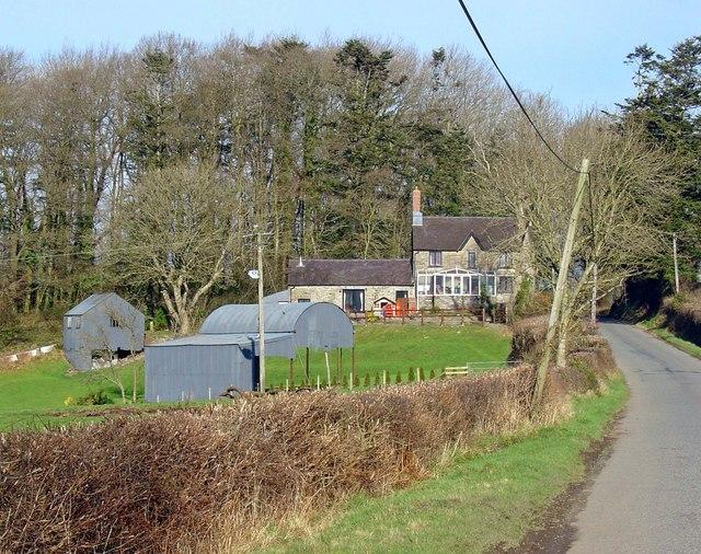 Mount Pleasant House, near Cilgerran