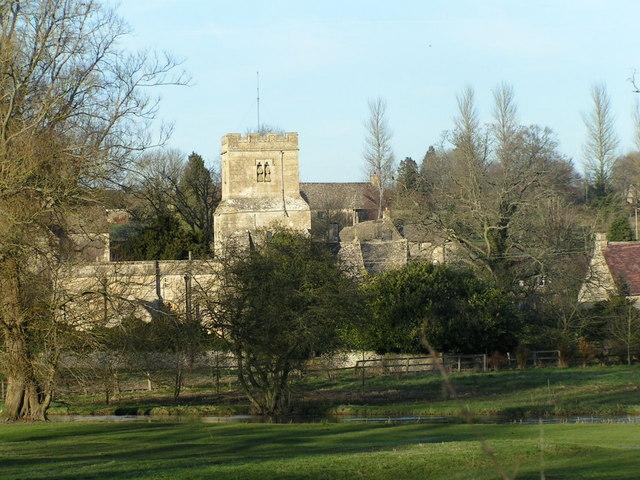 Coln St Dennis church