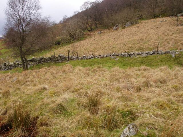 Side of Creigiau Llwyn-gwern