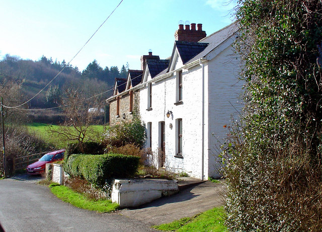 Cottages at Pont Herws