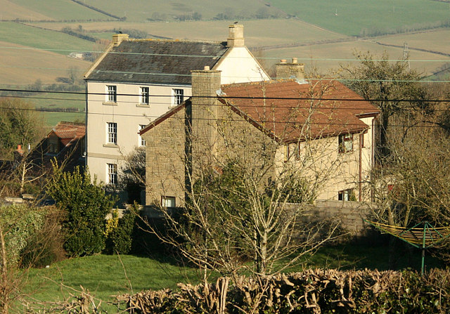 2008 : Cottages off Keels Hill, Peasedown St. John