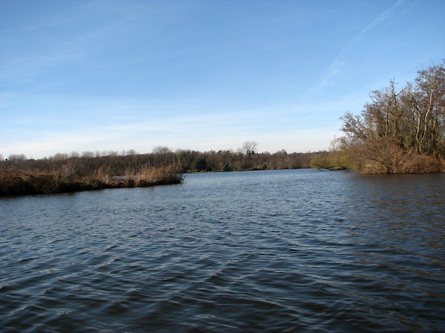 Past Wroxham Broad