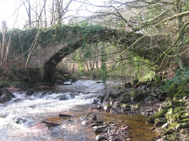 Old bridge over River Nethan