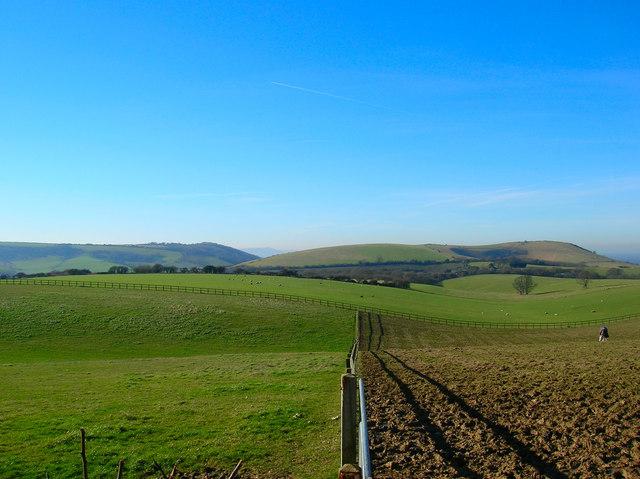 Fields near New Barn Farm
