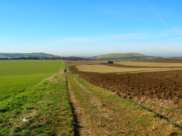 Bridleway to Pyecombe
