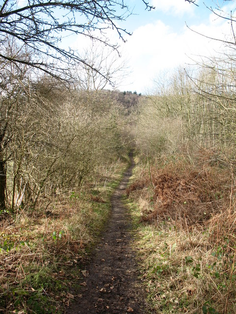 Bridleway below the White Horse