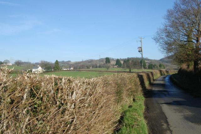 Road outside the NoBody Inn