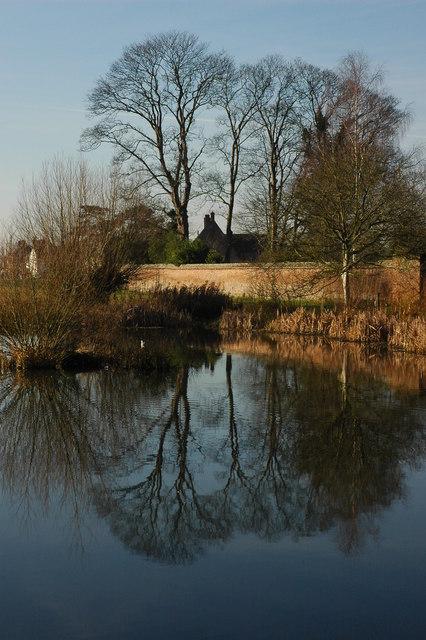 Pond at Frampton-on-Severn
