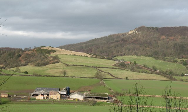 Hood Grange and the Whitestone Cliff