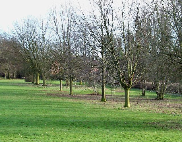 Muchall Park in Penn (winter), Wolverhampton