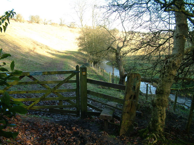 Stile by River