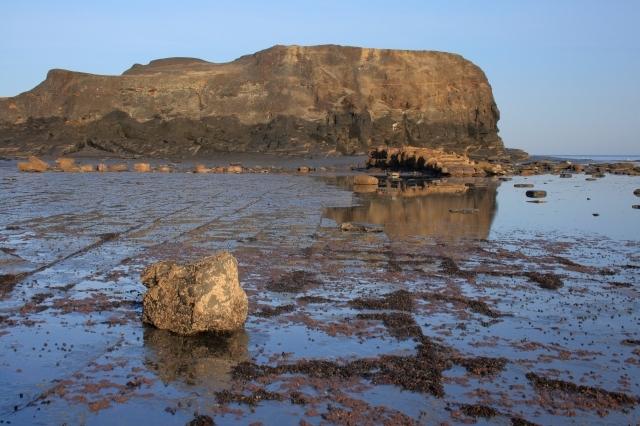 Remains of Slipway, Saltwick Nab