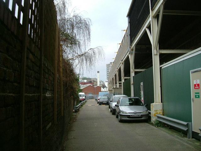 Shepherd's Bush station - railway arches