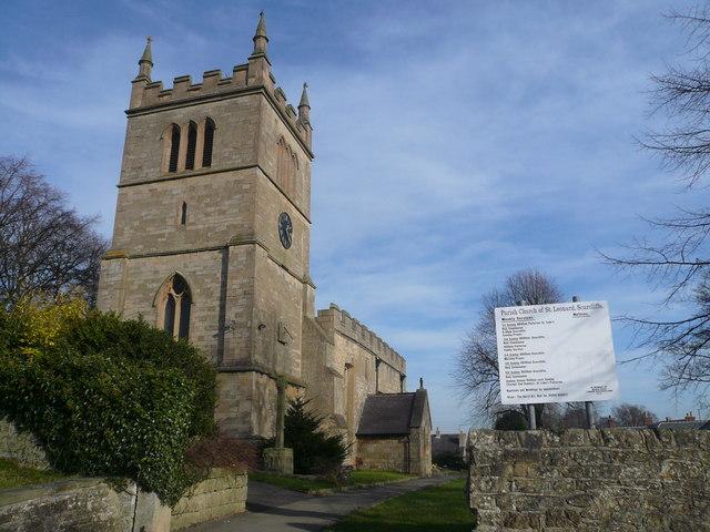 Scarcliffe - Parish Church of St. Leonard
