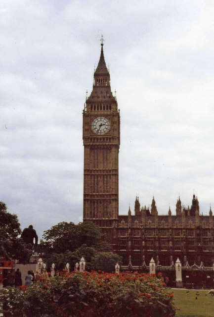 Big Ben from Parliament Square, London SW1