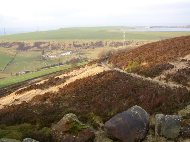 Path up to Royd Height, Rishworth