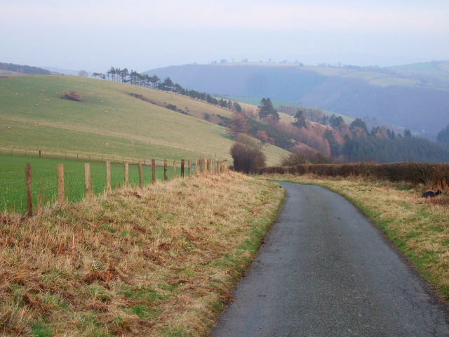Lane west of Churchtown Hill