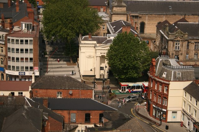 Walsall town centre