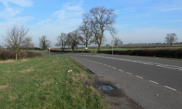 The A444 Atherstone Road