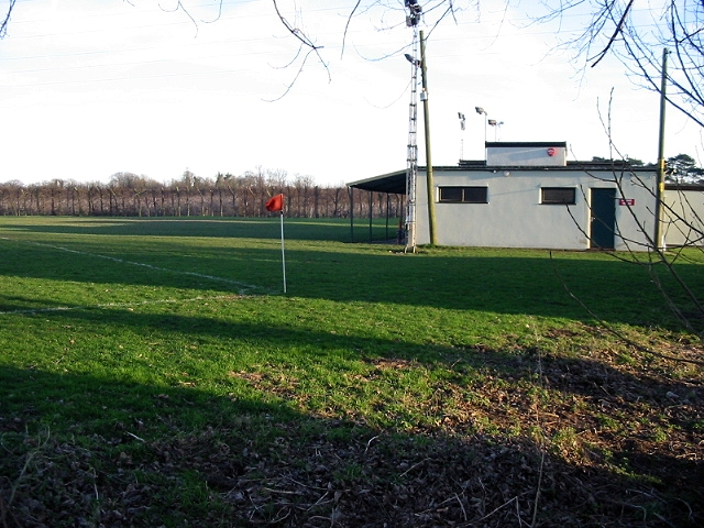 Woodnesborough football ground