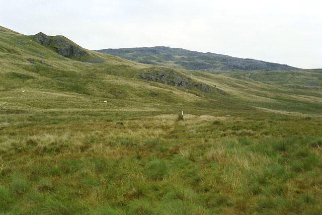 The Aran Fawddwy path