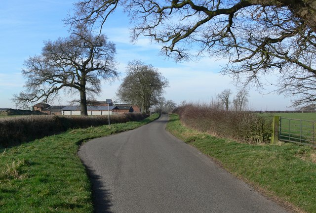 Atterton Road near Hill Farm