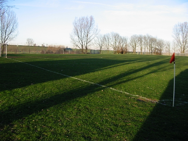Woodnesborough football pitch