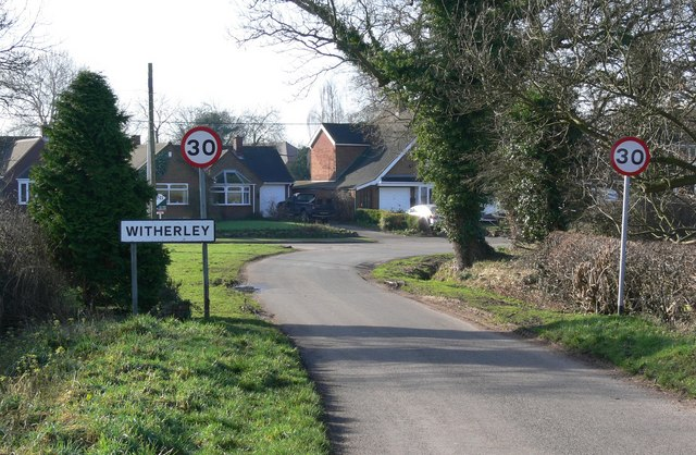 Witherley in Leicestershire
